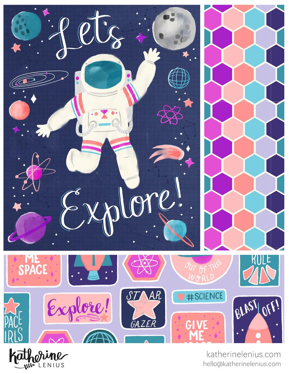Let's Explore Space | Katherine Lenius