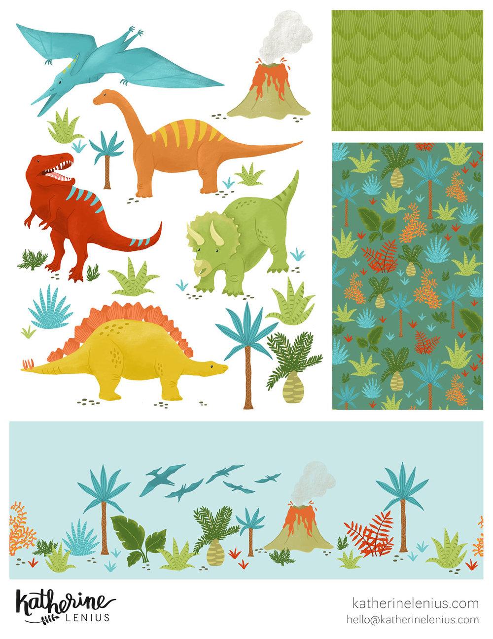 Dinomite Dinos | Katherine Lenius