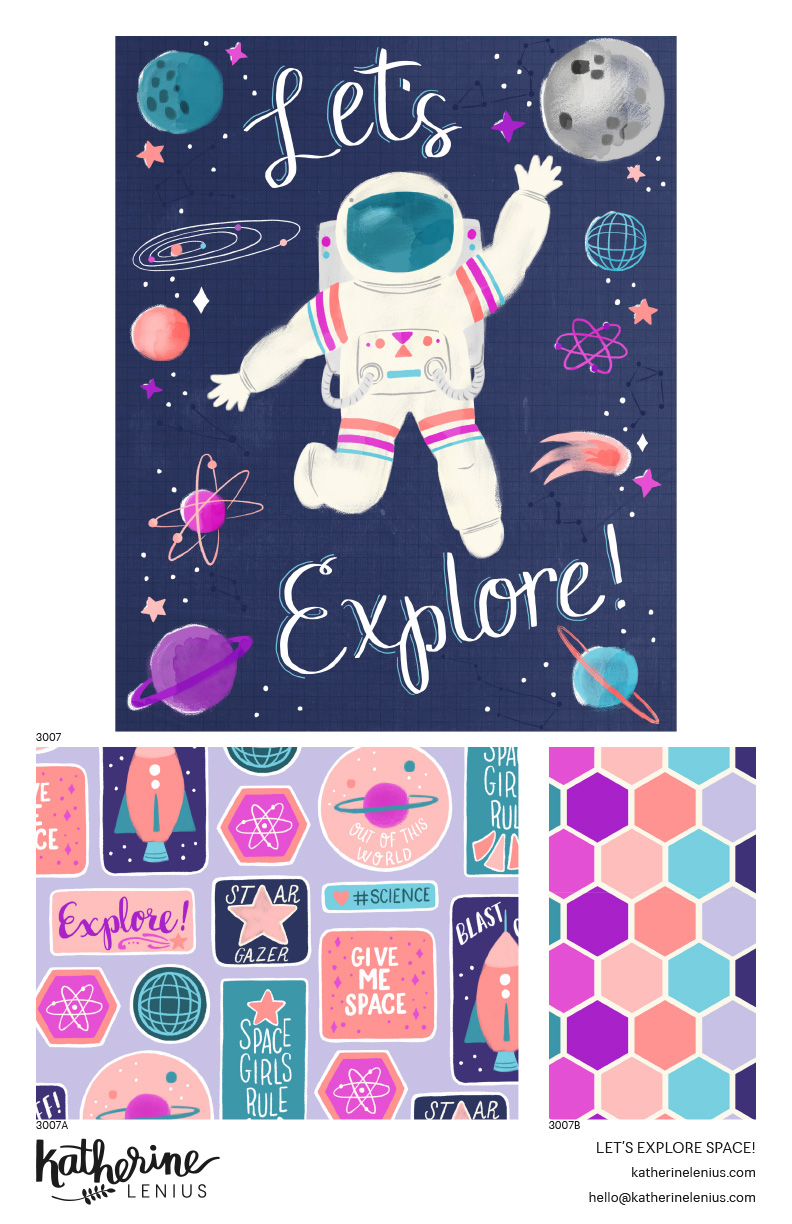 Let's Explore Space! by Katherine Lenius