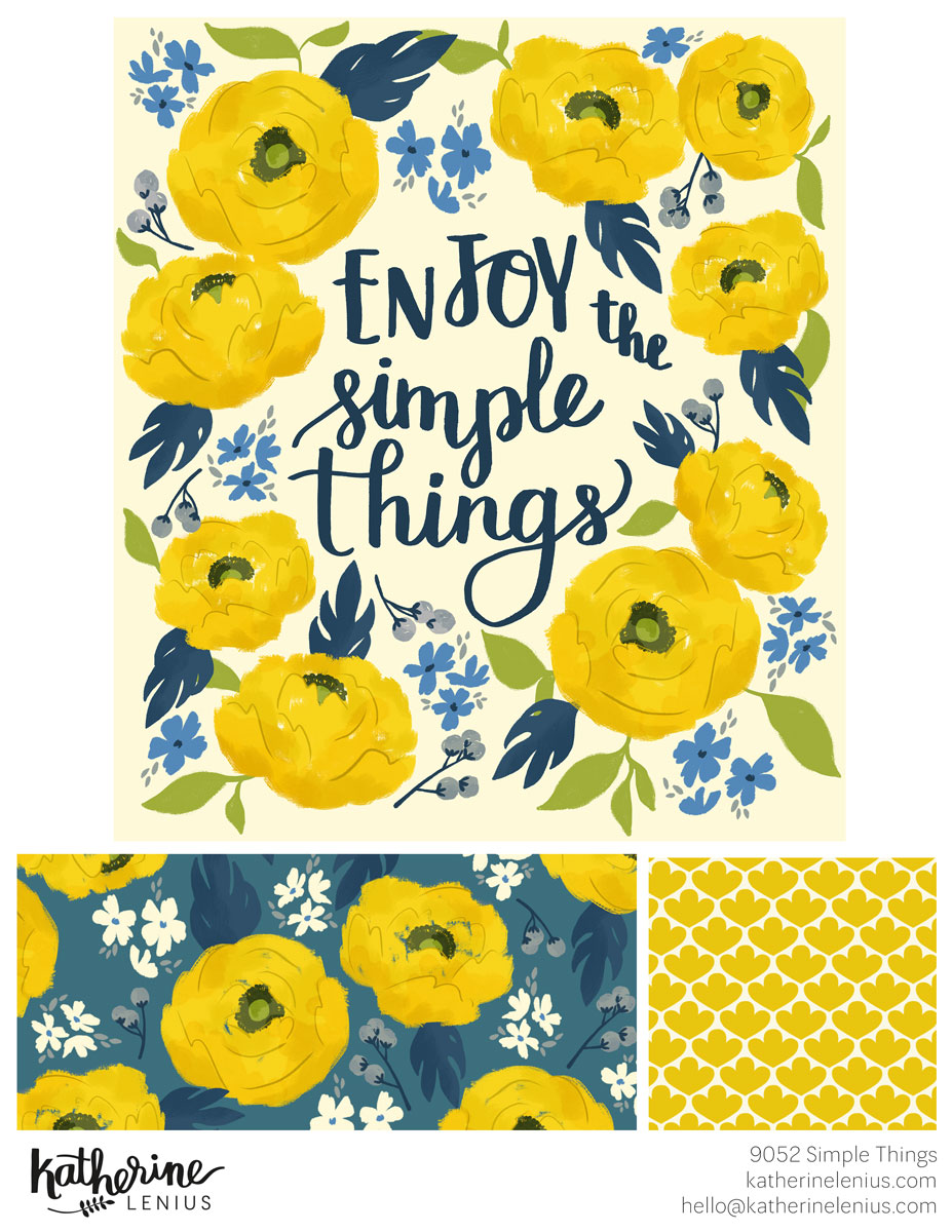 Simple Things | Katherine Lenius