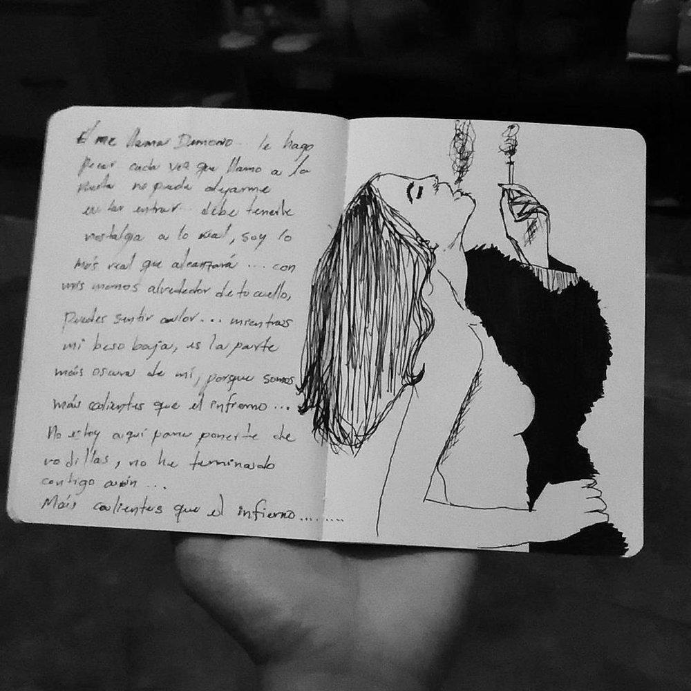 Wendy Maravilla ( @wentmarv) \ Ilustración y poesía