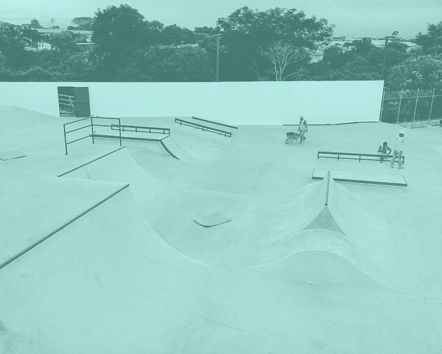 Centro Cívico por la paz de Heredia, skatepark listo para estrenarse este domingo 19 de noviembre. Foto: ?