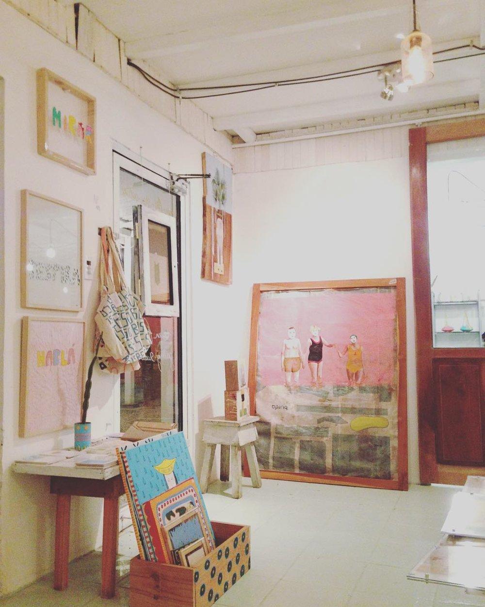 Colaboración AiParijs en Galería Van Parijs