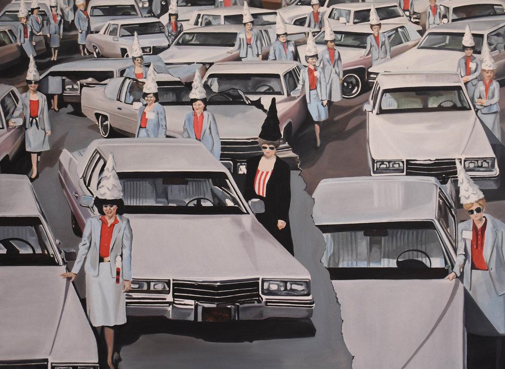 Las Cardonas   Oleo sobre canvas, 90x120cm 2018