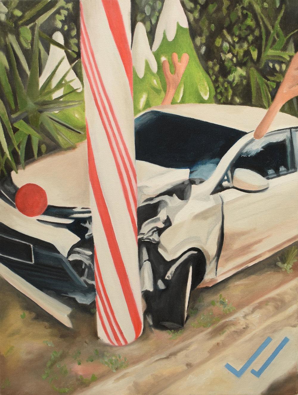 Mimetismo   Oleo sobre canvas, 30x40cm 2017