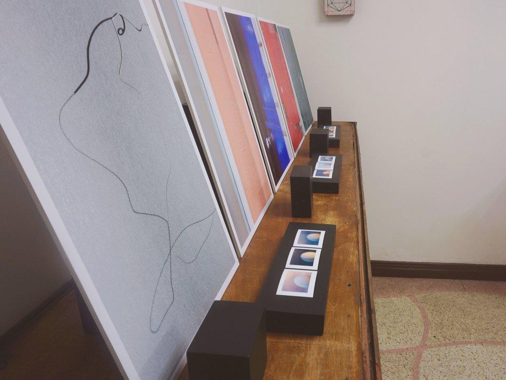 tienda 9/4, prints de leo ureña, piso