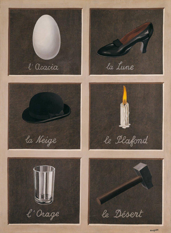 """""""La clef des songes"""", 1898-1967, René Magritte"""