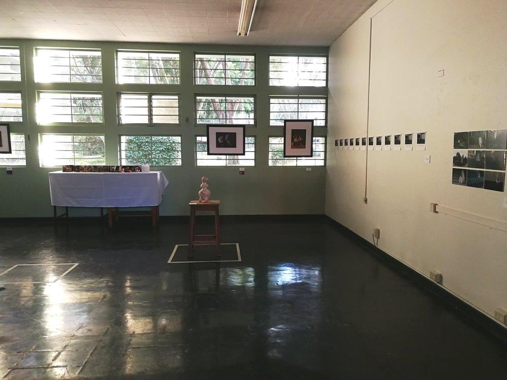 aunque la muestra inicia como una gestión de los alumnos de la especialidad pintura, se llegan a involucrar más estudiantes, quienes utilizan dos aulas adicionales para exhibir trabajos de otras cátedras como cerámica, fotografía y escultura.