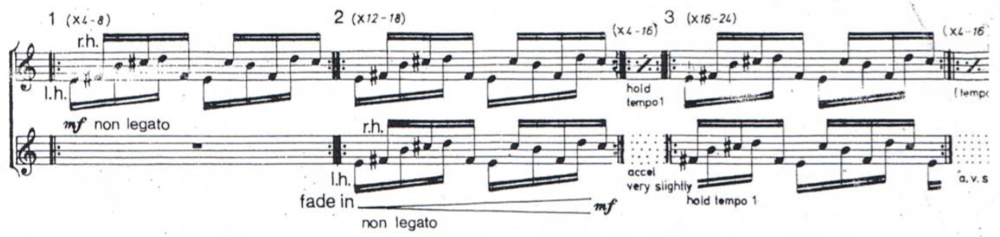 "Reich, ""Piano Phase"""