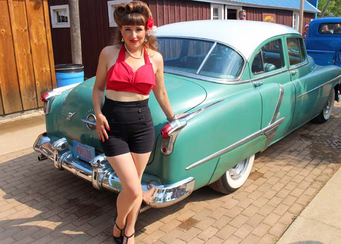 Pin-up contest wisconsin Lucy LaBelle