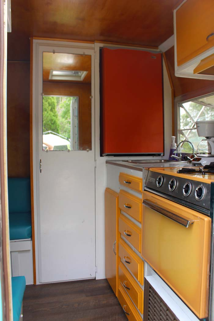 1972 Shasta Compact Travel Trailer Camper