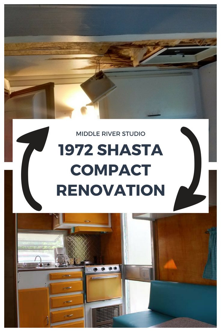 1972 Shasta Compact Camper Renovation, Vintage Travel Trailer Restoration, Vintage Camper.jpg