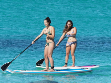 Paddling with your bestie in the stunning waters off Meelup is an adventure you won't forget in a hurry.