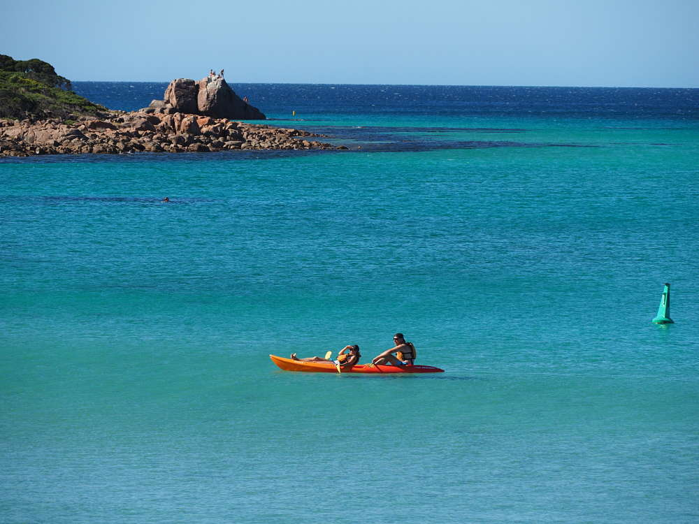Kayak Meelup Bay Busselton City