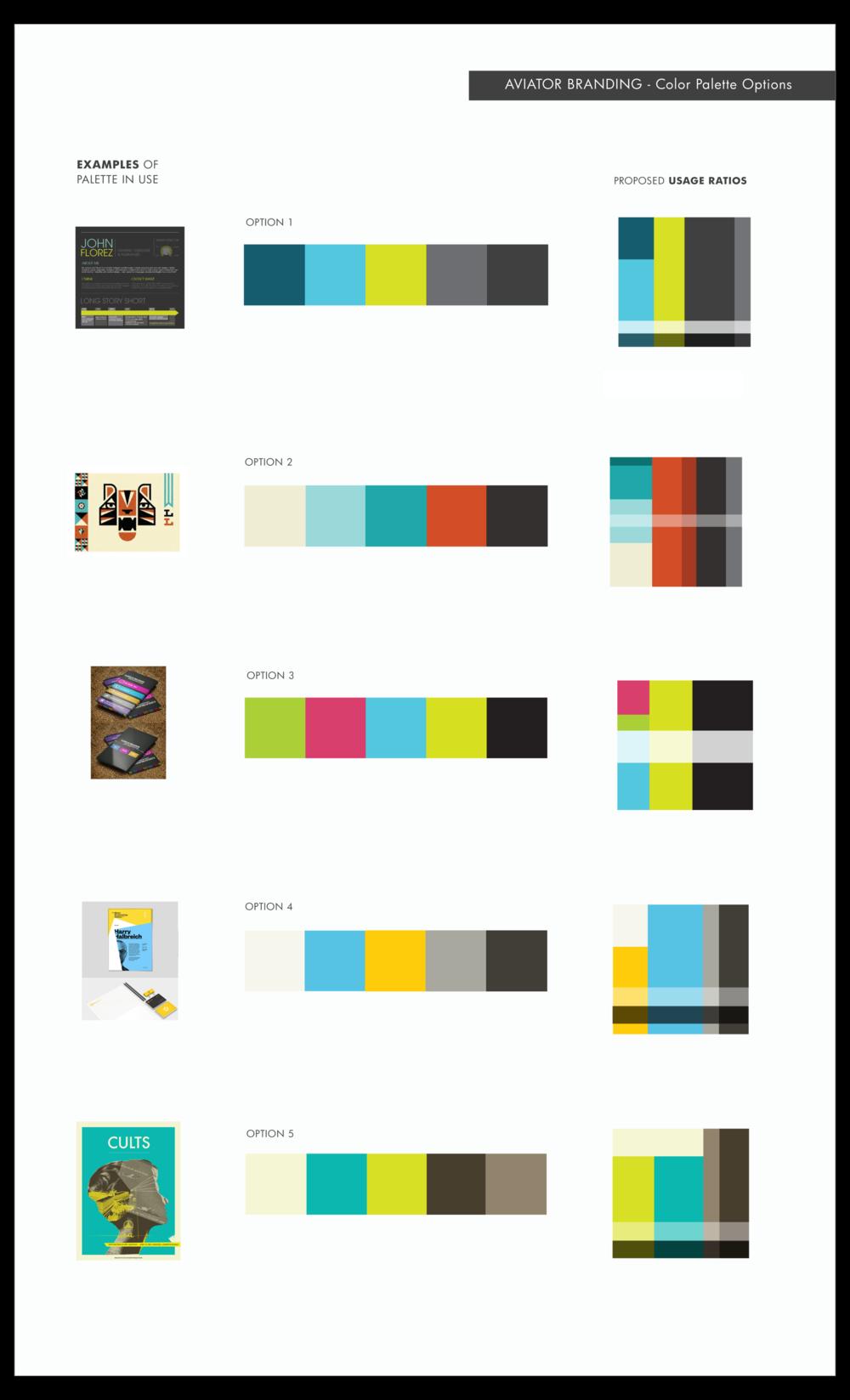 Color options given. The client chose last option.