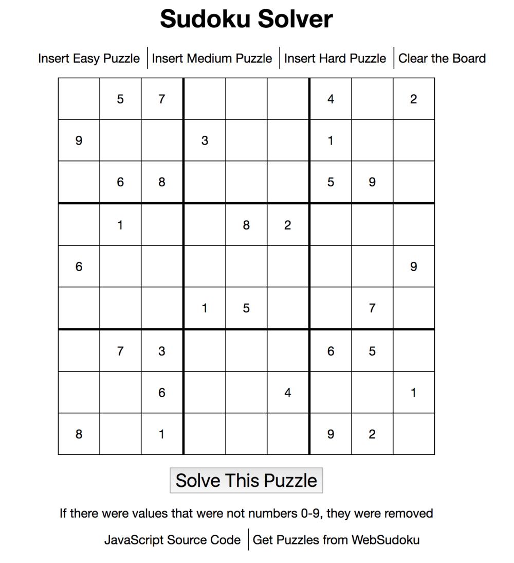 sudoku solver nathan walker