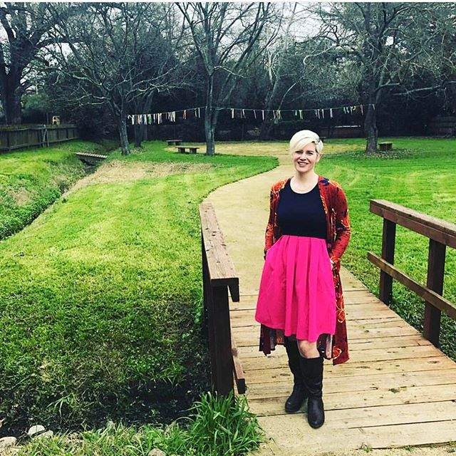 Today's #followfriday is @lularoe_erin_stisser. Cause well she is adorable. Her outfits are on point and her pictures make us wanna get dressed in more than #lularoeleggings. Go give her a peek and a little love.