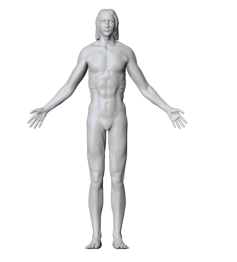 T-Pose Model