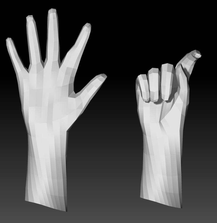Posing the Hand