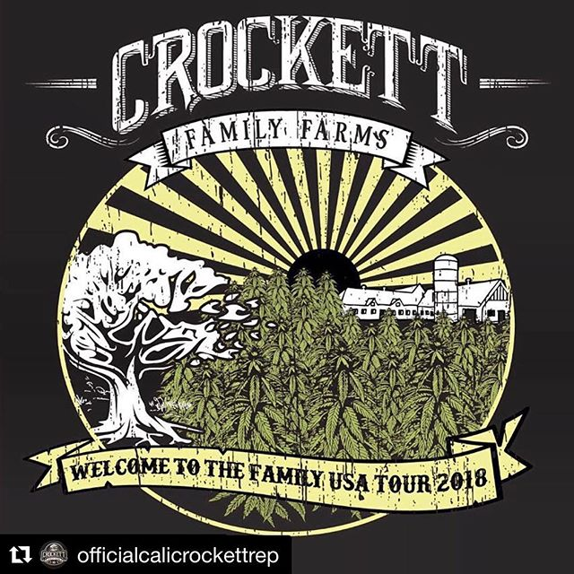 "You bet, it's happening! #Repost @officialcalicrockettrep ・・・ #Repost @geneticthreads Check out #geneticthreads for some special edition gear!!! . ""Hey fam!! We are so excited to announce Crockett Family Farms as our featured breeder for October! On top of it, for October we are celebrating our one year anniversary, so we will be going big with this box! We have been looking forward to featuring @crockett420 and his legendary work for some time now, and we are stoked that that time has finally come!! This design turned out amazing and we can't wait to see our members sporting this sweet shirt! . ~ For current members, stay tuned for an email with updates regarding our current payment situation. ~ For people looking to join the club as new members, please DM us, as we are still working out some back end issues. . #geneticthreads #crockettfamilyfarms #cff #welcometothefamily #cannabiscommunity #cannabisapparel #cannabisseeds #cannabisfashion #boxclub #mmjlifestyle #knowyourbreeder #tangie #geneticthreadstyle #geneticthreadstribe #howdoyougeneticthreads"
