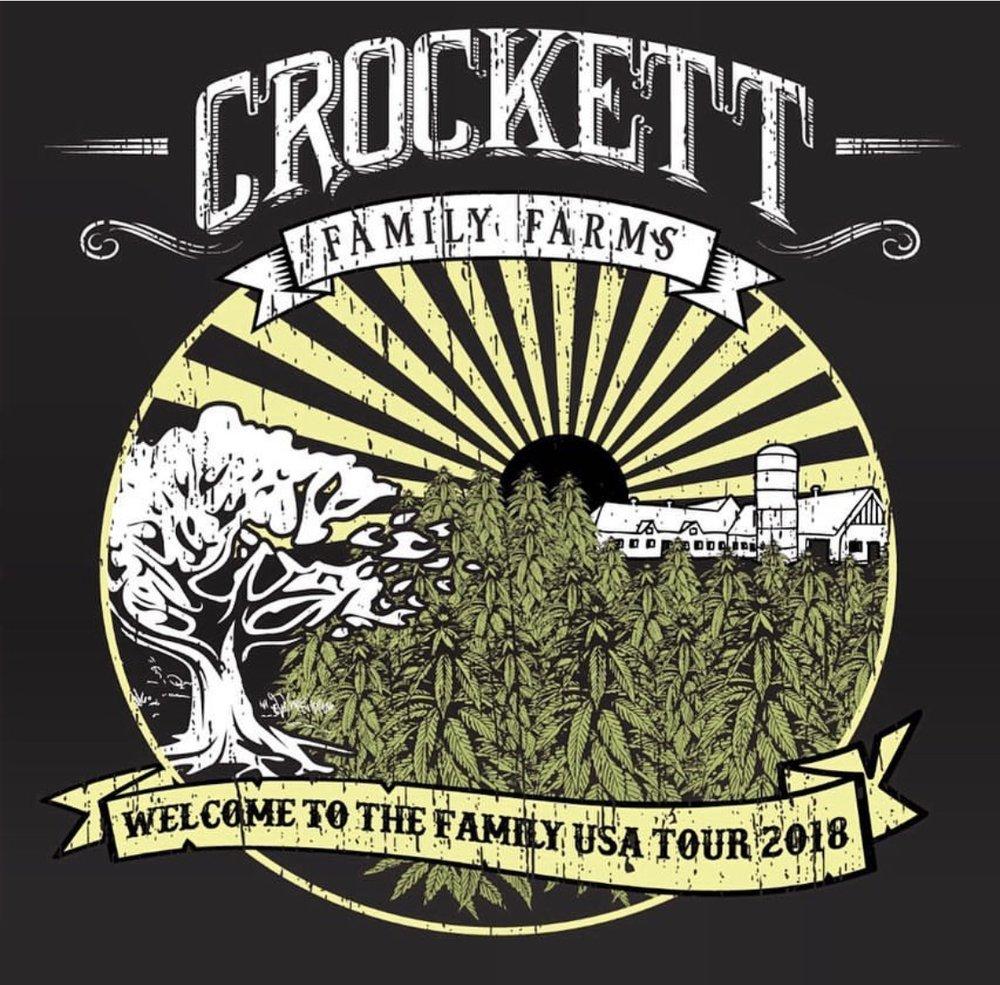 CROCKETT FAMILY FARMS - Featured October Shirt