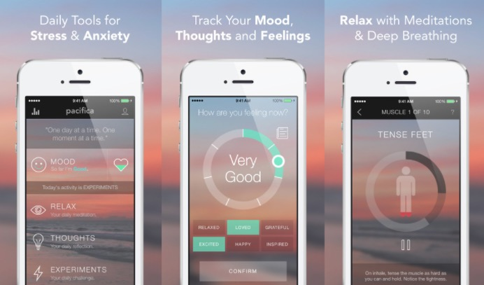 Pacifica: Another app that is great for your mental health is Pacifica. Every day Pacifica sends you a notification asking how you are feeling. If you are feeling bad, it provides a breathing exercise. This is a perfect way to track your feelings and find any patterns.