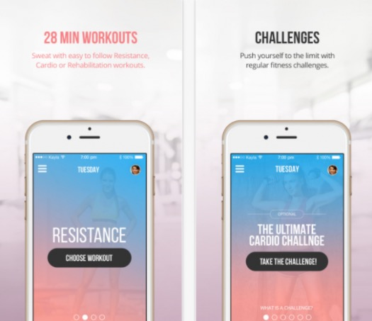 Sweat with Kayla: I used this app religiously this past summer and it was amazing. It provides 28 minutes, intense workouts and challenges to do every day. The scheduling and community on the app really motivates you to stick to it. A personalized meal plan is also provided no matter what your nutritional needs are. The reason I don't use it anymore, the price tag. $20 a month (ugh). If you have the money and want an app that will whip you into shape, this is the one!