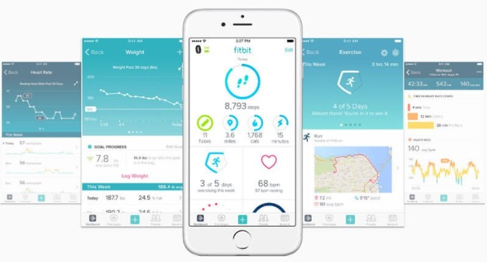 Fitbit app: This is one that you need to have the product for, but it is AMAZING! My parents gave me the Fitbit Charge 2 for Christmas and I love it. It is really an amazing product. It inspires me to get my steps in. You can also track water intake, calories, weight, and my favorite...sleep! If you don't have a Fitbit already, I really reccomend it!