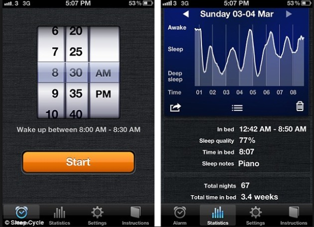 Sleep Cycle: Getting into a good sleep pattern is my number one goal this year. Lack of sleep can cause stress, lack of motivation, many health problems, and the dreaded eye circles. If you do not have the Fitbit app this is a great option. It helps you go to bed on time, and wake up peacefully.