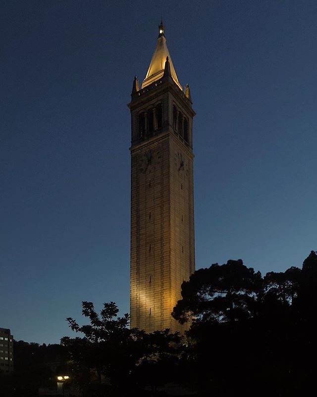 Fiat Lux... sunrise run 🏃🏻‍♂️ #ucberkeley #lettherebelight