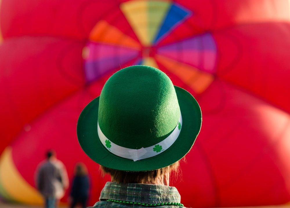 St Patrick's Day Balloon Rallye - Belen, New Mexico