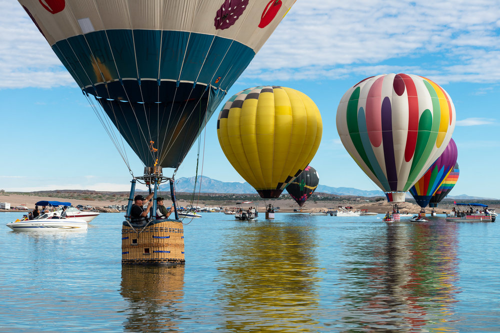 Elephant Butte Balloon Regatta - Elephant Butte, New Mexico