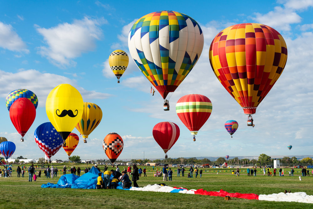 Balloon Fiesta - Albuquerque, New Mexico