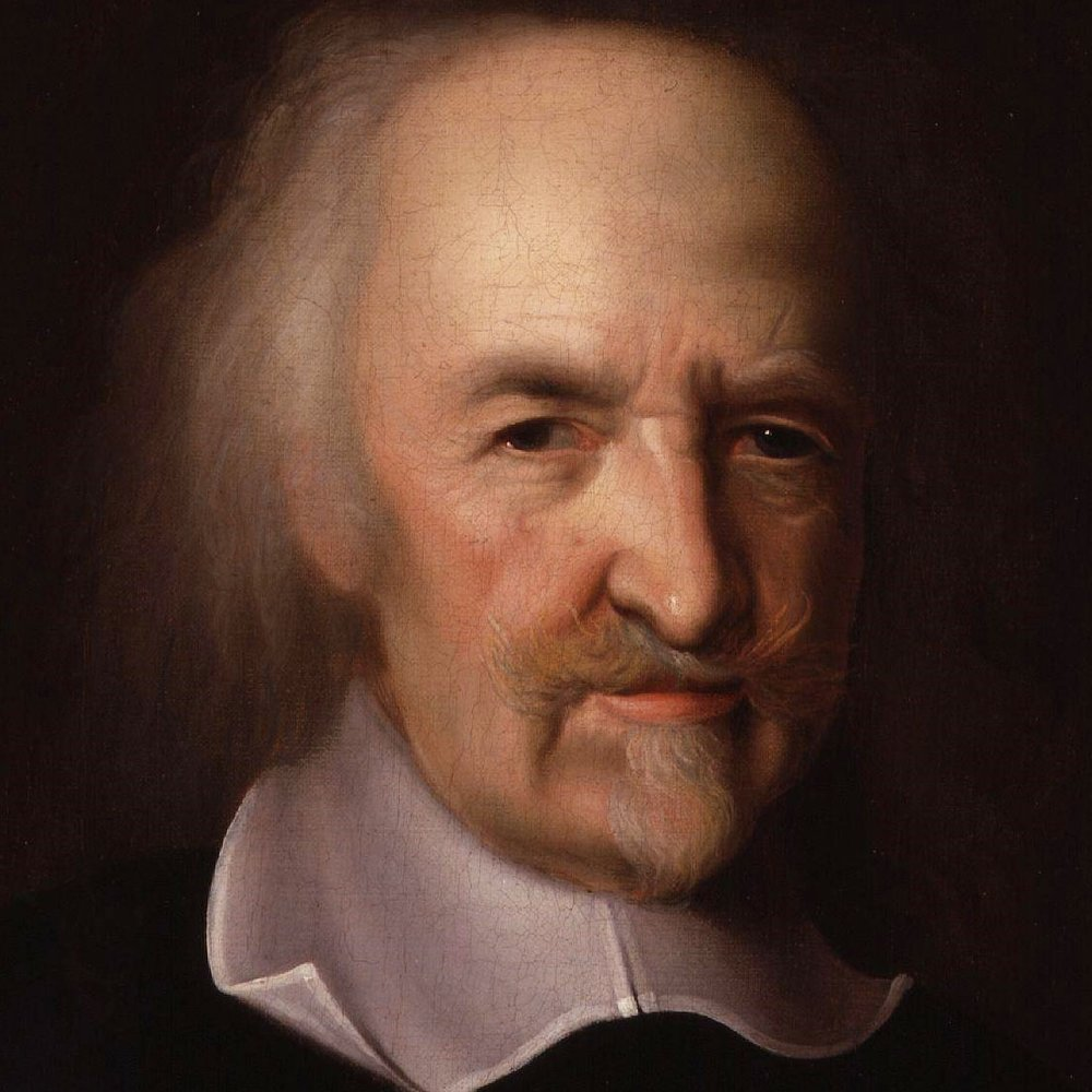 Thomas Hobbes: Humans act in service of self. - Our society created Blockchain because we cannot trust one another. We created a technology that will enable us to conduct our business and transactions without needing to place our trust in another human.