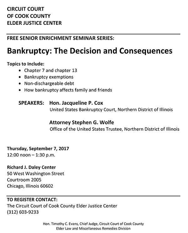 BANKRUPTCY BASICS FOR SENIORS (Sept. 7, 2017).jpg
