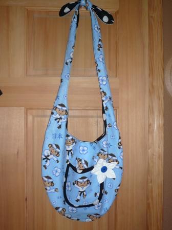 Ninja Monkey Bag 1