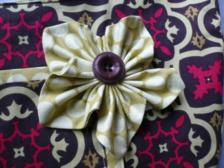 NRE Fabric Flower 6