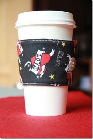 How to make a Coffee Cup Sleeve | Crafty Staci