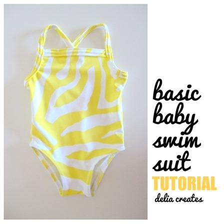Delia的婴儿泳衣创造了