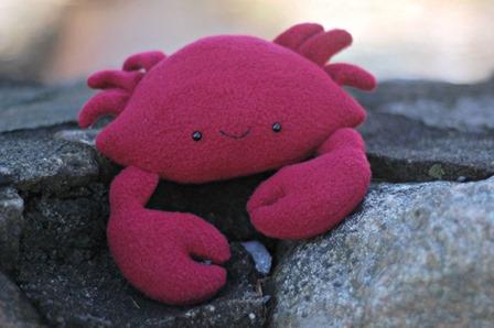 凯西螃蟹从她小睡时