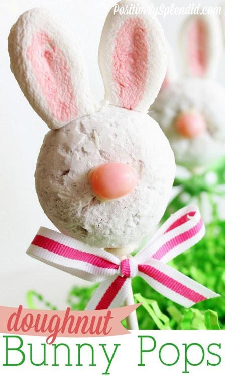 甜甜圈兔子从积极出色流行