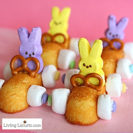 Easter Bunny Race Car Treats from Living Locurto