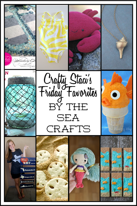 Friday Favorites - By the Sea Crafts