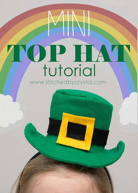 Mini Top Hat from Stitched by Crystal