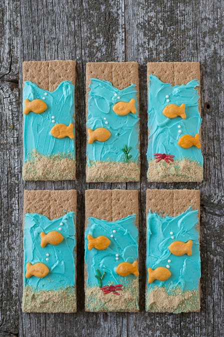 Under the Sea Graham Crackers from The First year