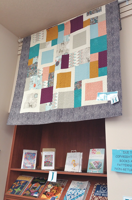 Labeling System for quilts and patterns at BJs Quilt Basket