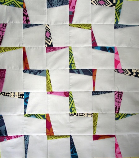 Lightning Zigzags Quilt from Jenn of All Trades