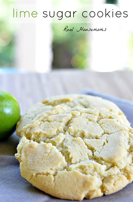 Lime Sugar Cookies from Real Housemoms