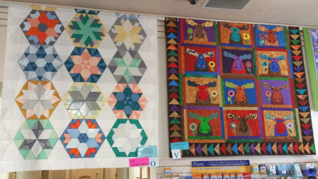 Quilts at BJs Quilt Basket