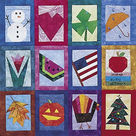 Seasons and Celebrations Quilt from Quiltmaker